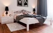 Кровать Италия с ковкой ЧДК