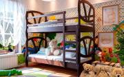 Двухъярусная кровать Виктория ЧДК