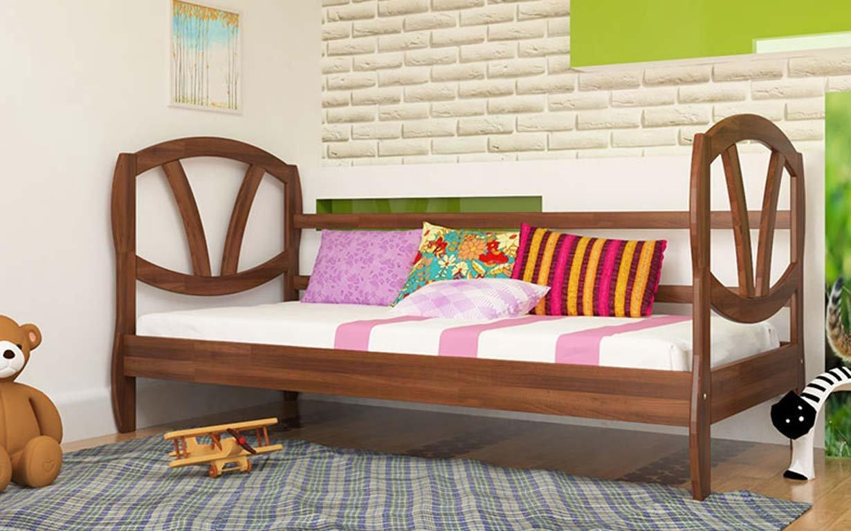 Кровать Виктория 90х200 см. ЧДК. Фото 1
