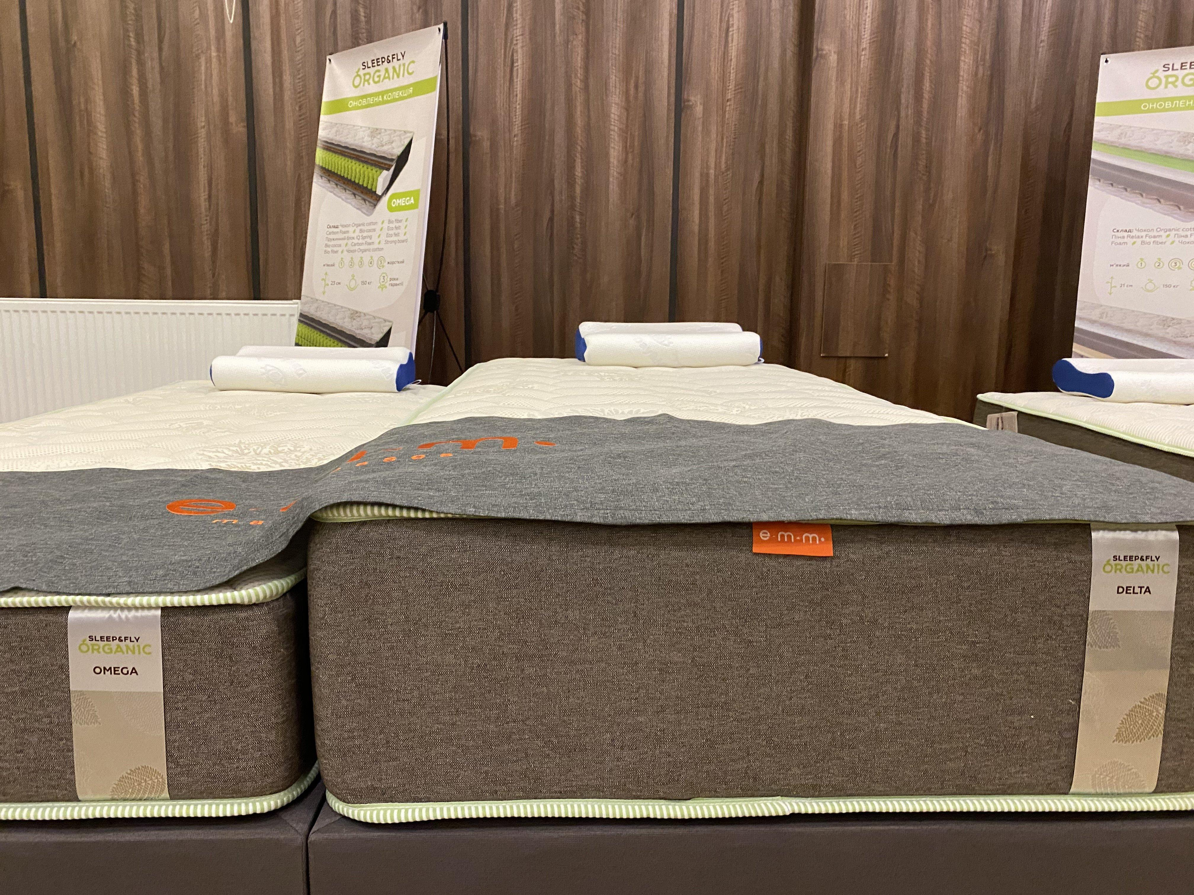 Ортопедичний матрац Sleep&Fly Organic DELTA. Фото 3