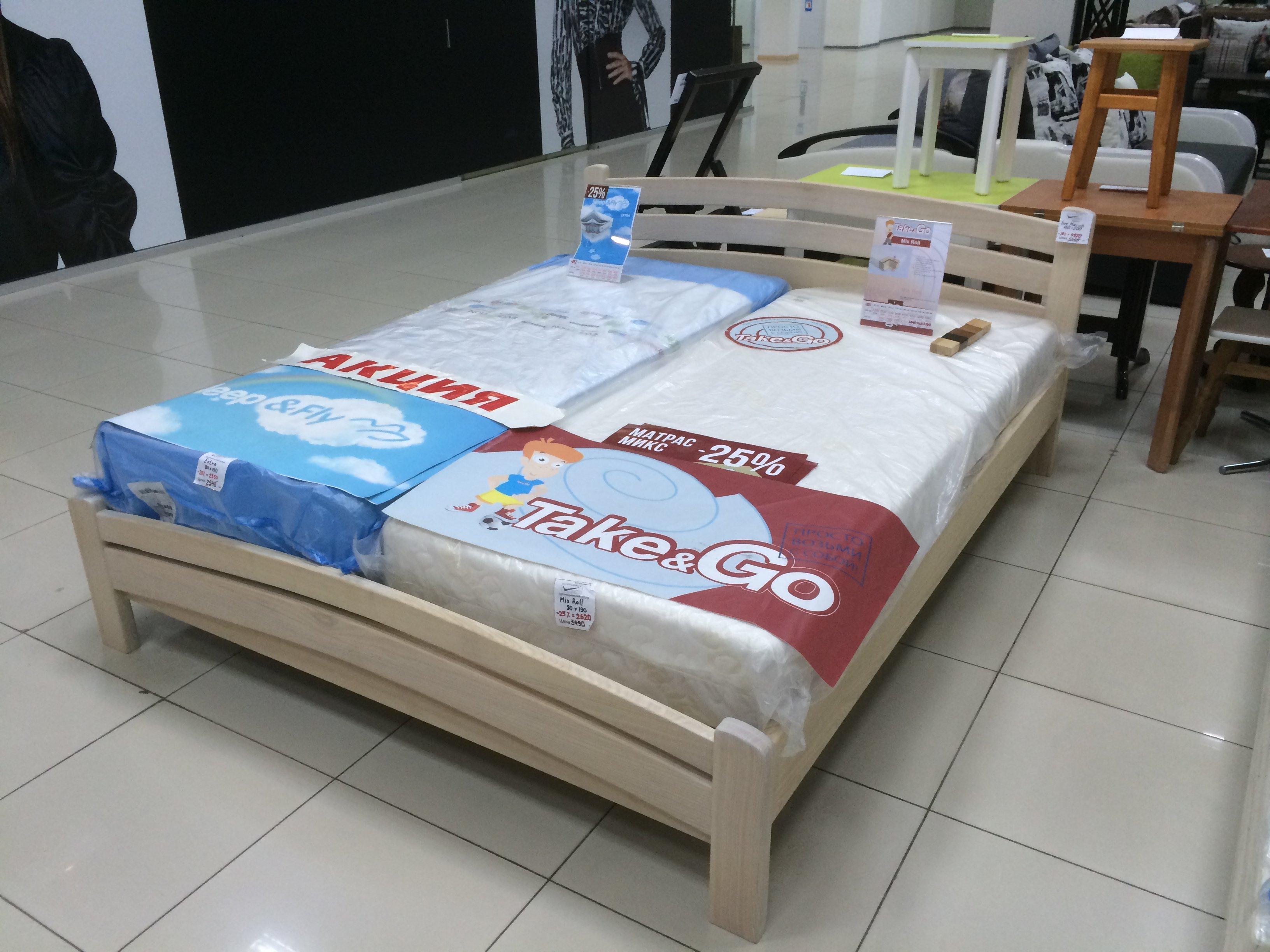 Кровать Катрин Ясень. Фото 1