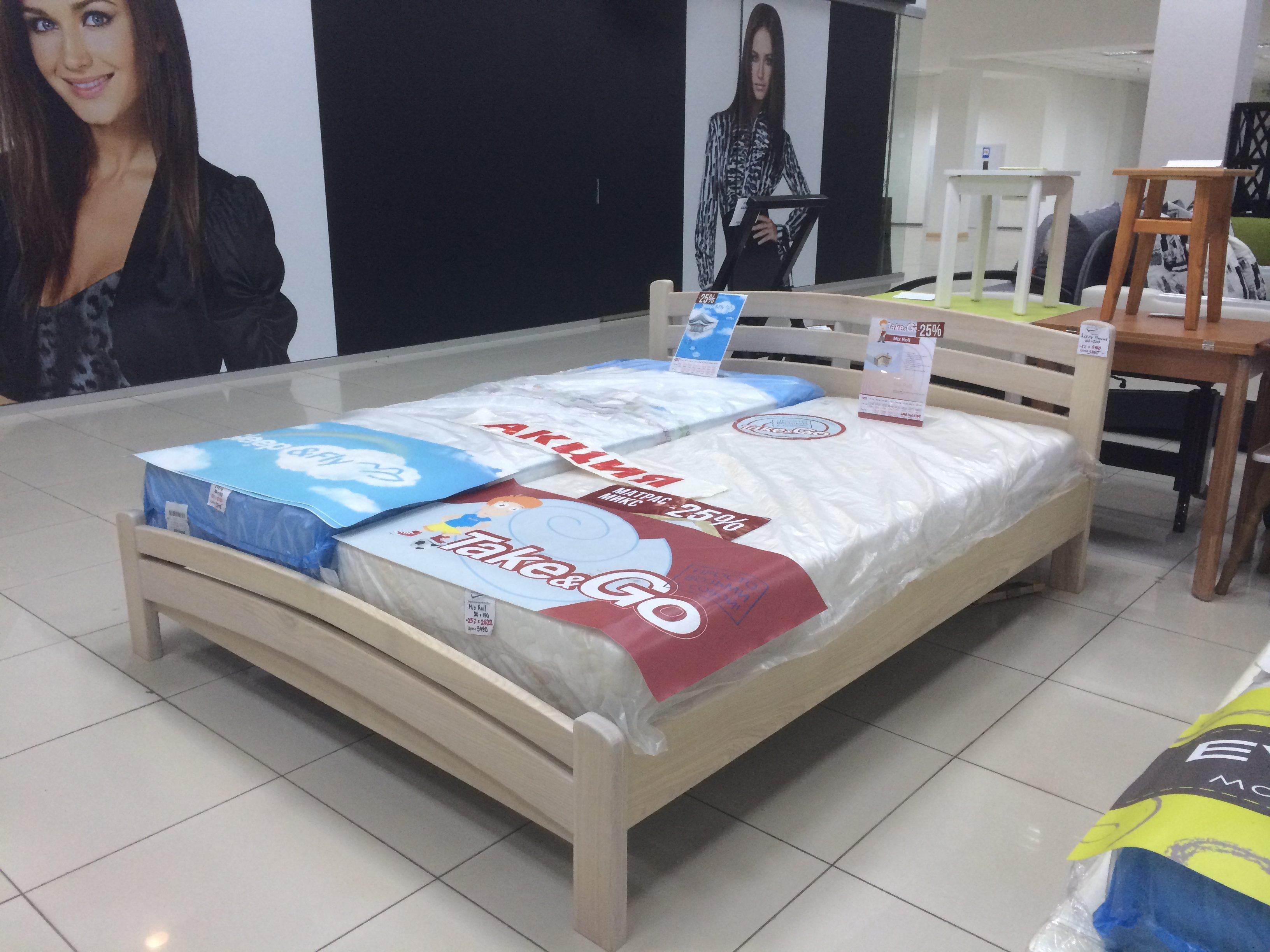 Кровать из массива Ясеня. Фото 3
