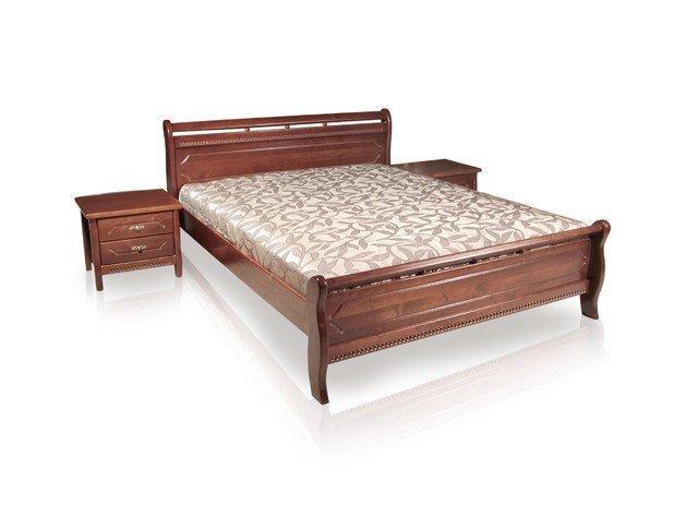 кровать двуспальная флора орех. Фото 2