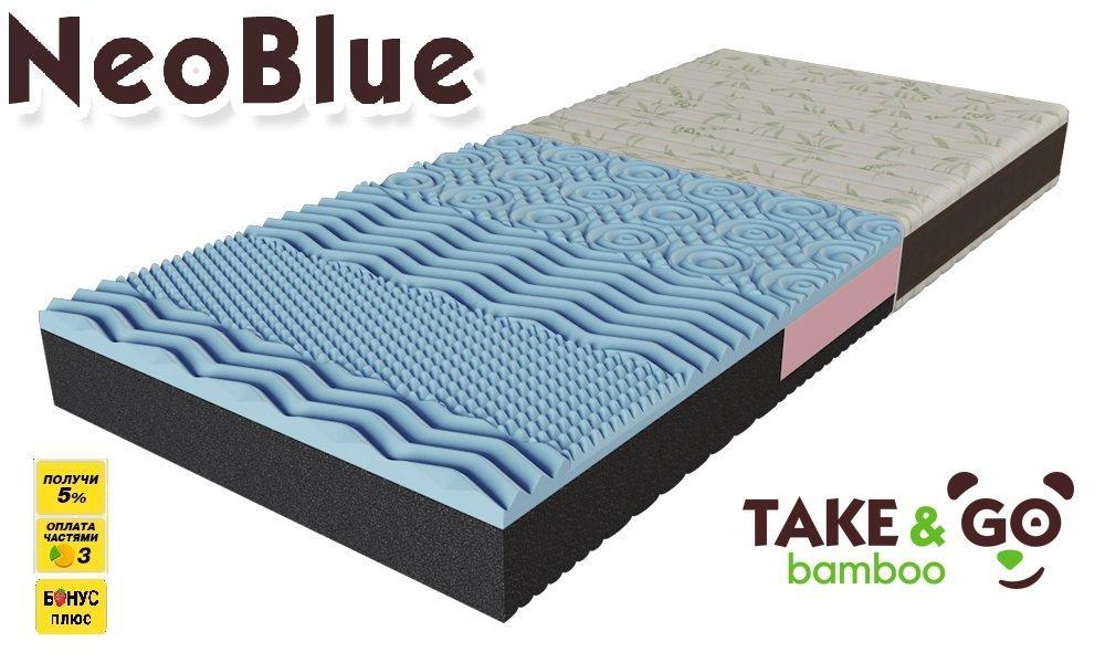 Ортопедический матрас NeoBlue Take Go bamboo. Фото 1