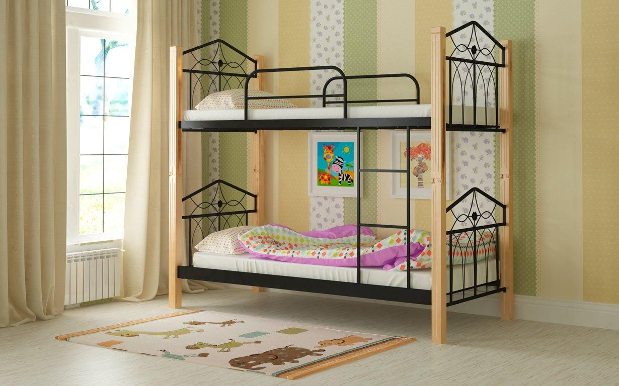 Двухъярусная кровать Тиара Мадера. Фото 1