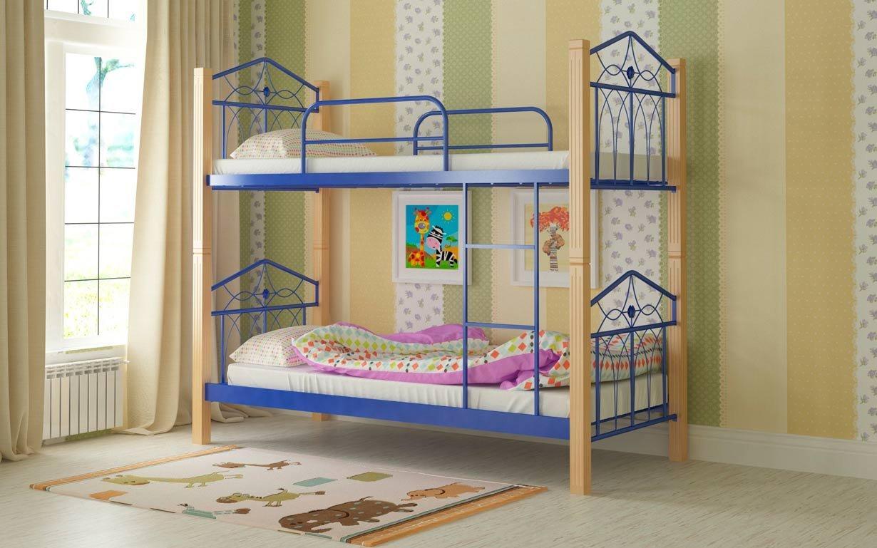 Двухъярусная кровать Тиара Мадера. Фото 3