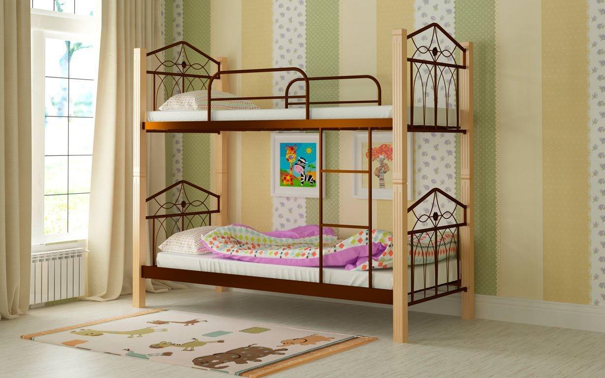 Двухъярусная кровать Тиара Мадера. Фото 4