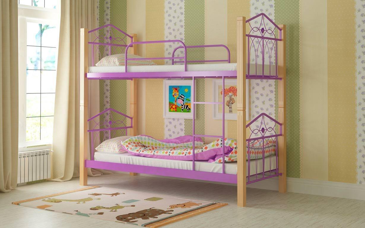 Двухъярусная кровать Тиара Мадера. Фото 5