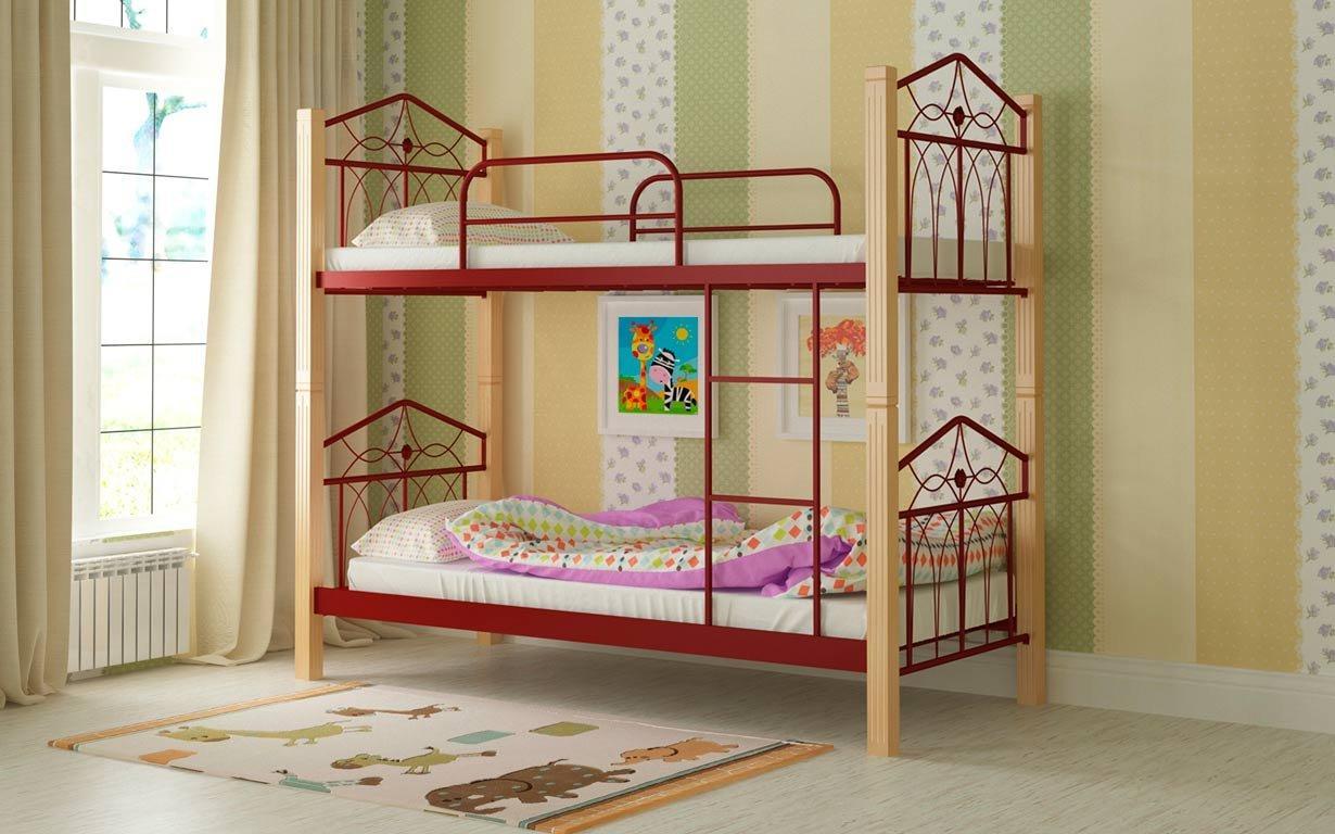 Двухъярусная кровать Тиара Мадера. Фото 6