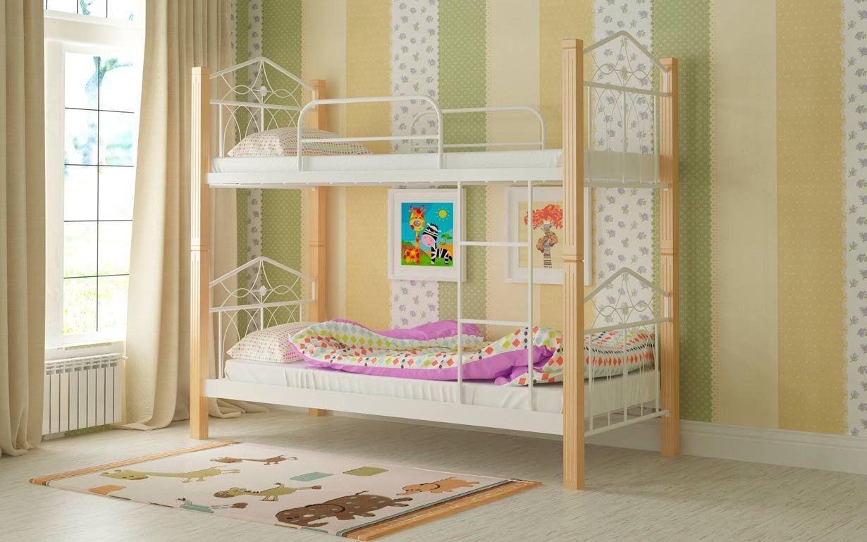 Двухъярусная кровать Тиара Мадера. Фото 7