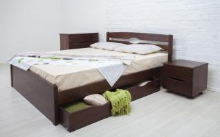 Кровать Лика Люкс с ящиками Аурель (Олимп)