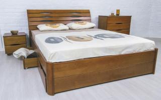 Кровать Марита Люкс с ящиками Аурель (Олимп)