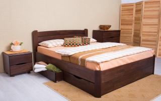 Кровать София V с ящиками Аурель (Олимп)