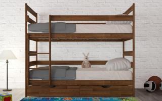Двухъярусная кровать Ясна Аурель (Олимп)