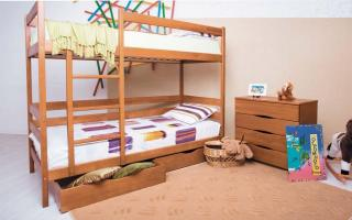 Двухъярусная кровать Амели Аурель (Олимп)