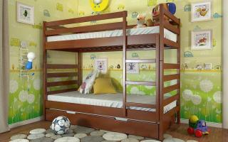 Двухъярусная кровать Рио Arbor Drev
